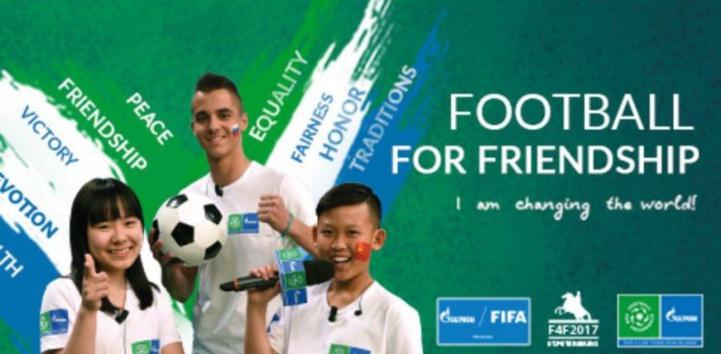 Journée mondiale du football : Le programme social international pour enfants «Football pour l'amitié» lance son édition 2020