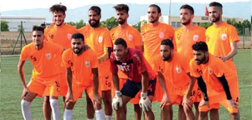 L'équipe du CODM football qui a sauvé sa saison. Ph. Laglag