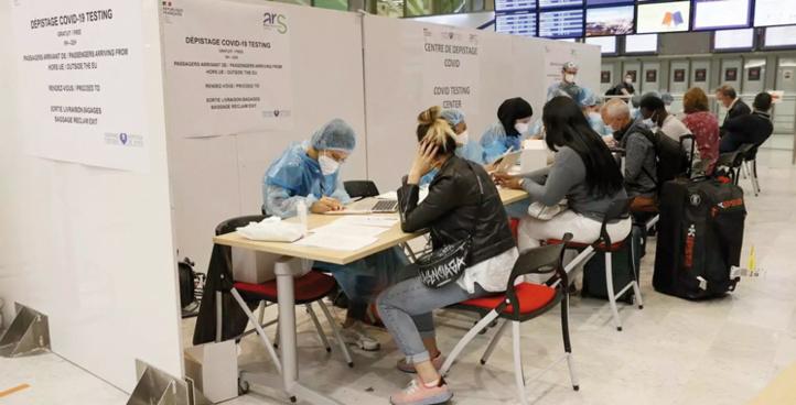 L'hexagone exige un test PCR négatif de moins de 72h aux voyageurs en provenance du Maroc