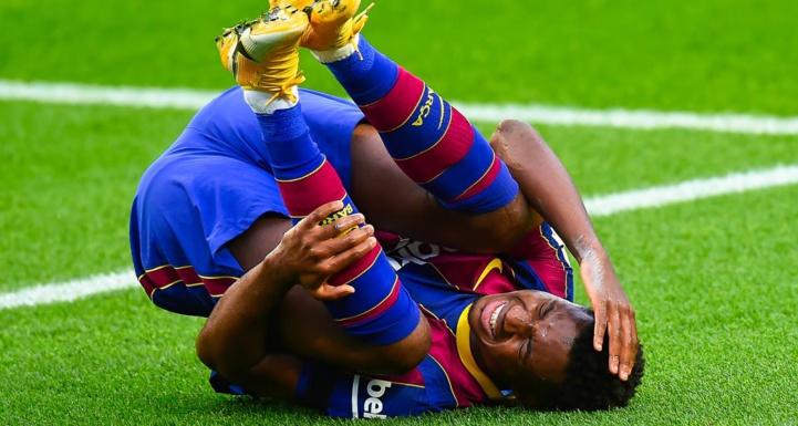 FC Barcelone: Fracture du ménisque du genou gauche pour Ansu Fati