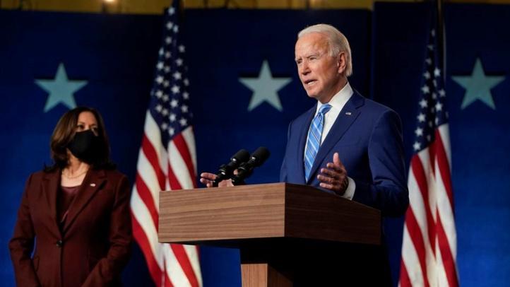Biden promet de rassembler l'Amérique