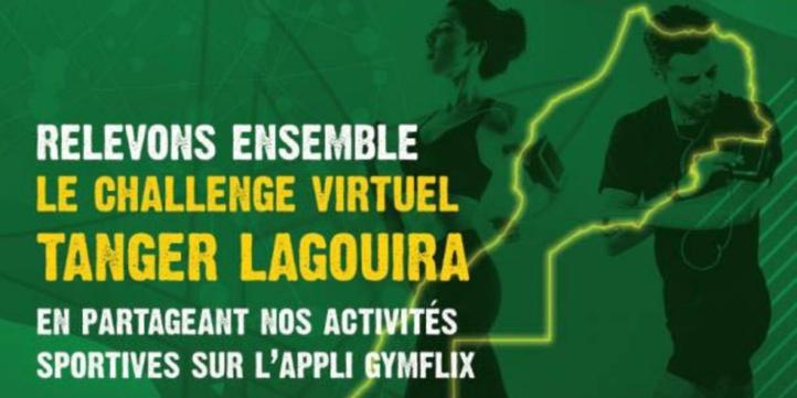"""""""Tanger-Lagouira"""", 1er challenge sportif virtuel en commémoration du 45ème anniversaire de la Marche Verte"""