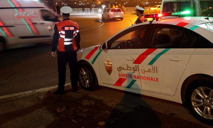 Casablanca : 27 Interpellations pour violation de l'état d'urgence sanitaire et dommages à la propriété d'autrui
