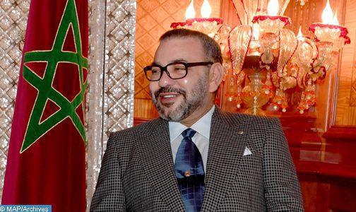 Echange fraternel entre SM le Roi et le Président Mauritanien