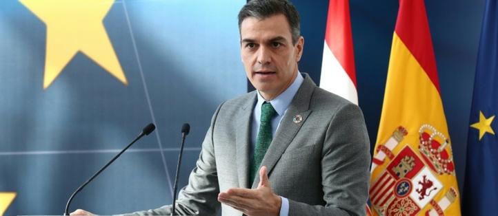 Le chef du gouvernement espagnol, Pedro Sánchez