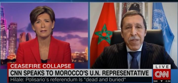 """Omar Hilale : En violant le cessez-le-feu, le """"polisario"""" s'est exclu de tout processus politique"""