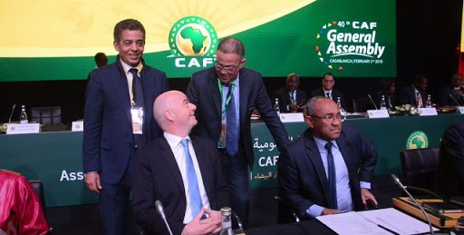 La réaction officielle de la CAF après la suspension de son président :   -L'intérim de M.Constant Omari prolongé jusqu'au 12 mars 2021  -M.Fouzi Lekjaâ, premier vice-président