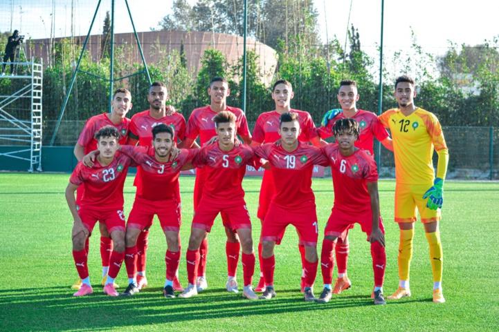 Football / La sélection nationale U20 en stage de préparation à Maâmora