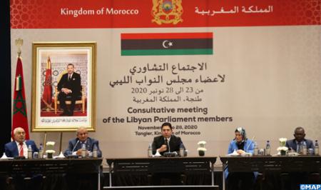 Bourita : la réunion de la Chambre des représentants libyenne consultative a été une «réussite»