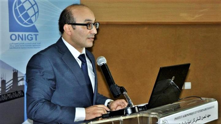 Khalid Yousfi, Président de l'Ordre National des Ingénieurs Géomètres Topographes (ONIGT).