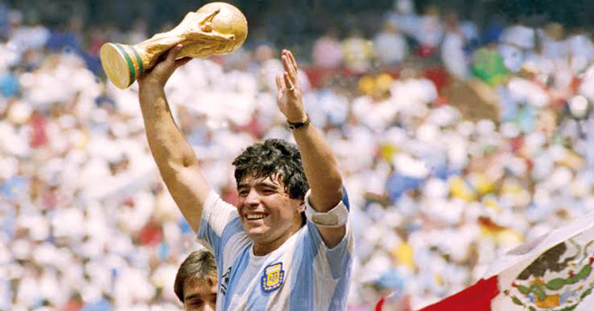 Adieu Diego Maradona, adieu l'artiste