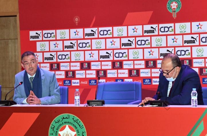 """Rencontre entre la FRMF et les clubs de la Botola sous le thème : """"Les centres de formation des joueurs"""""""