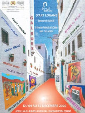 Rabat : Gal'Rue, une exposition en espace ouvert dans la capitale