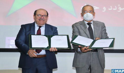 Signature d'une convention de partenariat sur le plaidoyer au sujet de la question du Sahara marocain