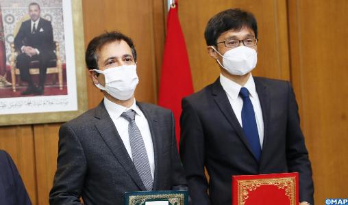 Maroc-Japon : Signature à Rabat d'un échange de notes portant sur un prêt de 200 millions de dollars