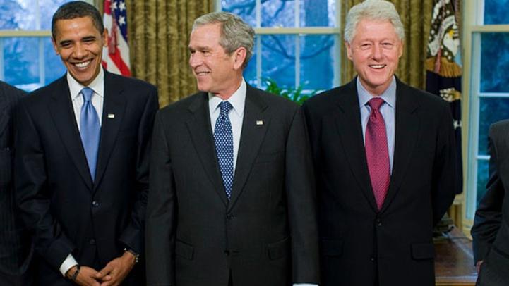 USA : Obama, Clinton et Bush promettent de se faire vacciner devant les caméras
