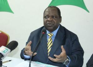 Yao Noel, Président de l'Union des Journalistes de la Presse Libre Africaine (U.J.P.L.A.).