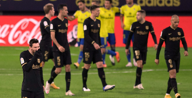 Liga : Le Barça rechute chez le promu Cadix