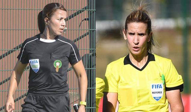 Botola Pro D2/ 2ème Journée:  Les deux dames de l'arbitrage national désignées pour Stade Marocain/Chabab Ben Guerir
