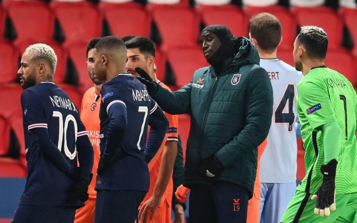 """Ligue des Champions : """"PSG/ Basaksehir"""" arrêté pour propos racistes du 4ème arbitre !"""