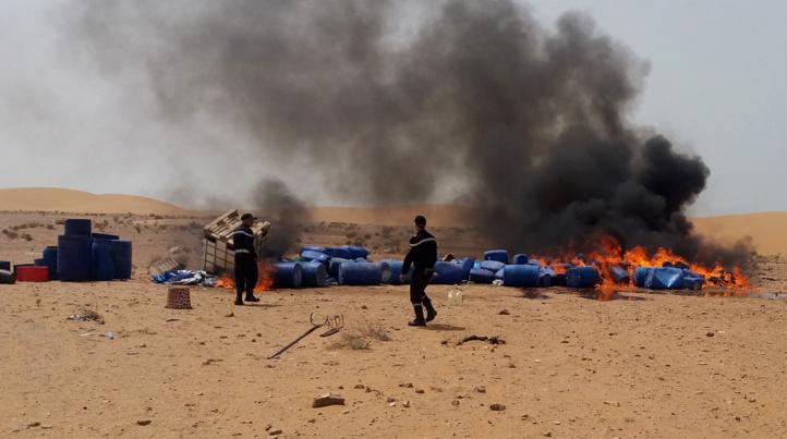 DGSN : Saisie de près de 2 tonnes de chira à Laâyoune