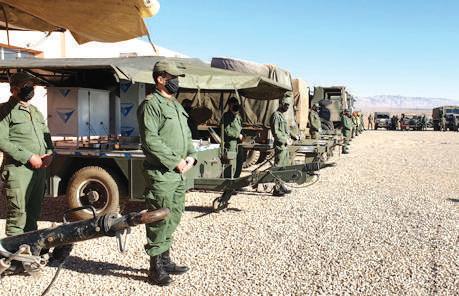 Errachidia / Vague de froid : L'armée vole au secours des populations civiles