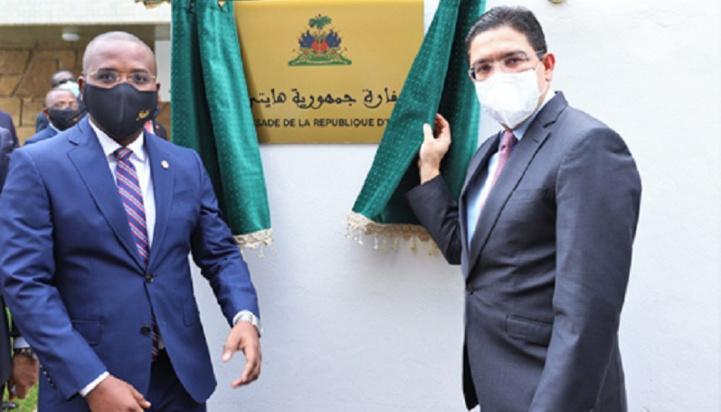 Rabat : Inauguration de l'ambassade de la République d'Haïti