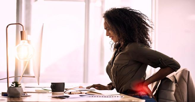 Télétravail : Comment prévenir ou soulager le mal de dos ?