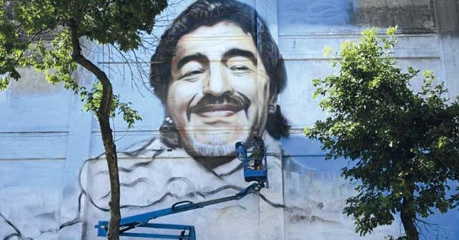 Magazine : « San Diego del barrio La Boca », la fresque murale géante