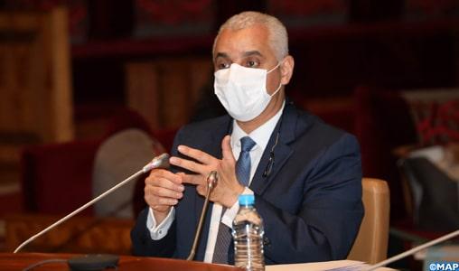 Ait Taleb : le lancement de la campagne de Vaccination est tributaire de l'arrivée du vaccin