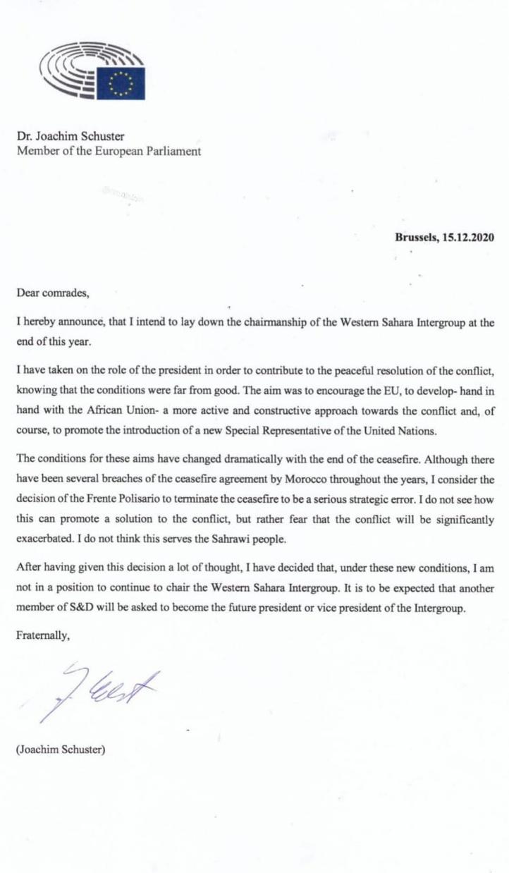 Le Polisario perd ses derniers soutiens au Parlement européen