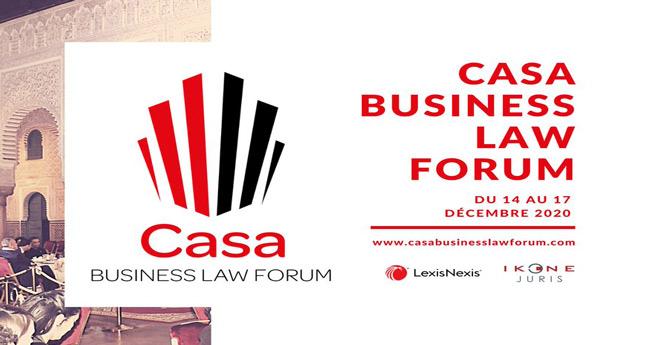 Casablanca : 2ème édition 100% en ligne pour Casa Business Law Forum