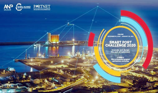 "Lancement du 1er Hackathon ""Smart Port Challenge #2020"""