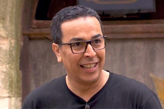 Feu Salah Eddine El Ghoumari toujours souriant.