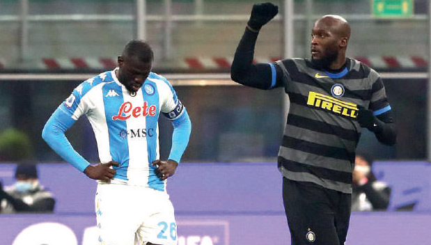 Serie A : L'Inter à un souffle de l'AC Milan