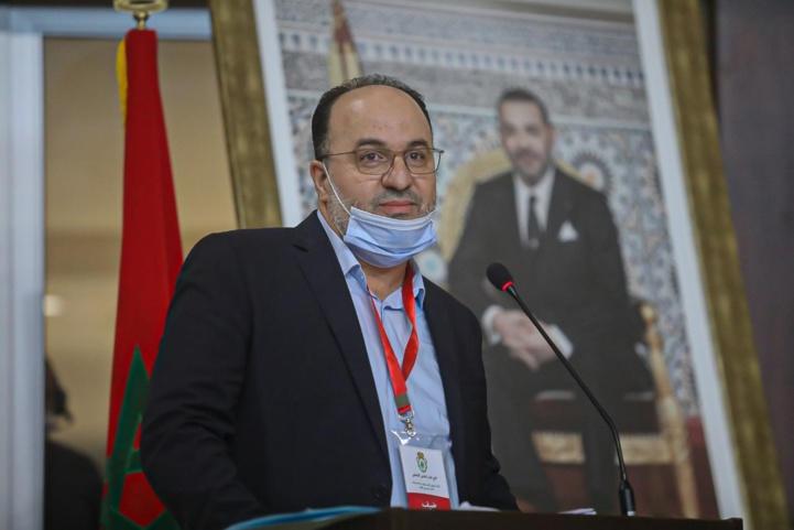 Mustapha Aourach nouveau président de la FRMBB. Ph. Nidal