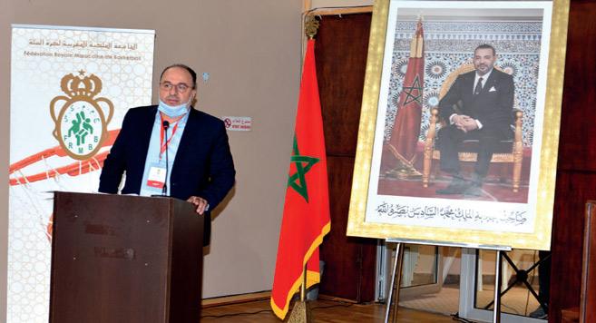 Réélection de Mustapha Aourach à la tête de la FRMBB. Ph. Nidal