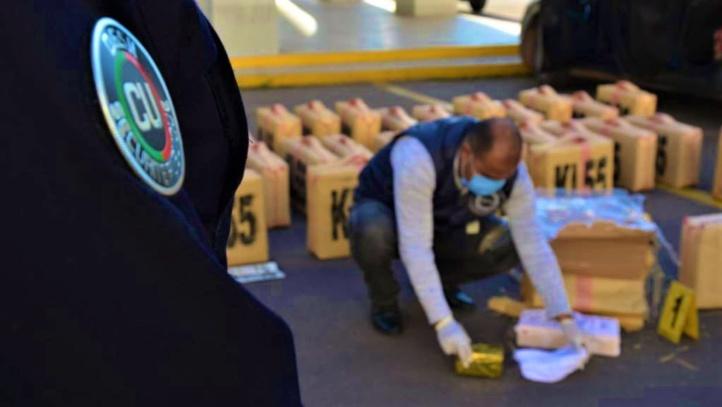 DGSN : Plus d'une tonne de drogue saisie à Casablanca, trois individus interpellés