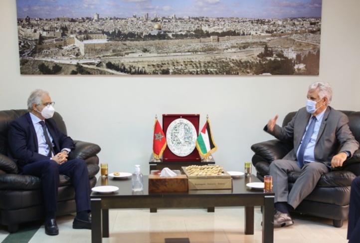 Délégation istiqlalienne à l'ambassade de l'Etat de Palestine : visite porteuse de soutien et d'amitié au peuple palestinien