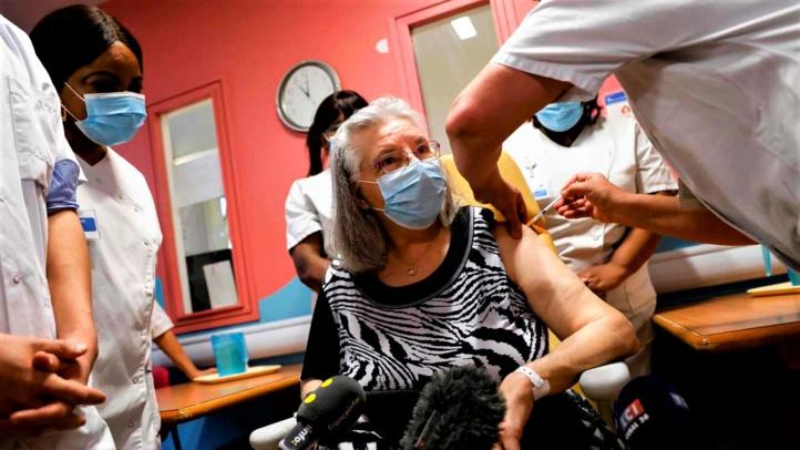 France : début de la campagne de vaccination contre le Covid-19