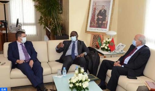 Maroc-Mauritanie : Amzazi et Ould Salem examinent les moyens de  renforcer les relations bilatérales