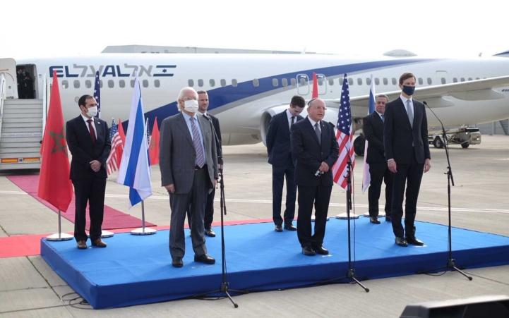La délégation marocaine est arrivée en Israël