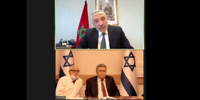 Moulay Hafid Elalamy s'entretient avec le ministre israélien de l'Economie