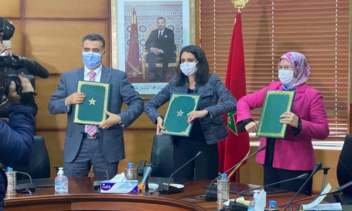 Économie solidaire: Signature d'une convention pour la mobilisation des compétences des MRE