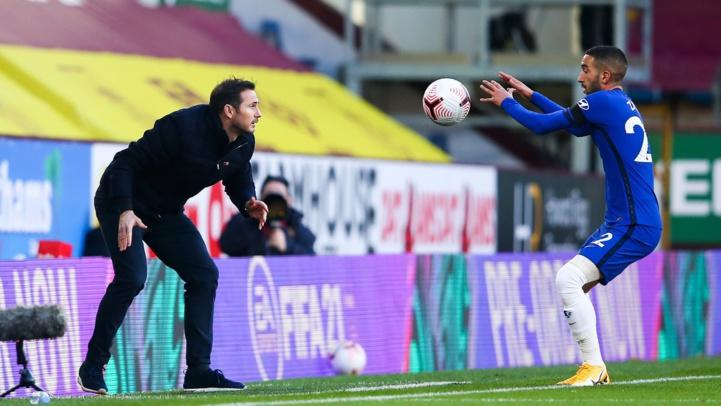 Frank Lampard espère récupérer Ziyech face au Manchester