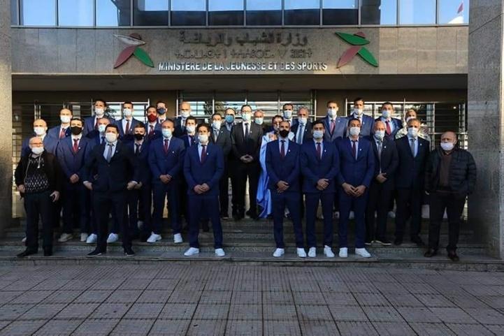 Handball: Réception à Rabat en l'honneur de la sélection nationale qualifiée au Mondial