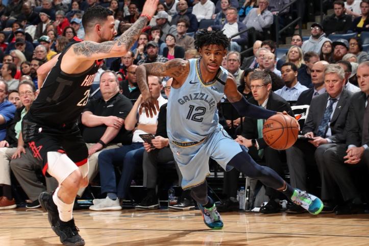 NBA: Ja Morant absent trois à cinq semaines