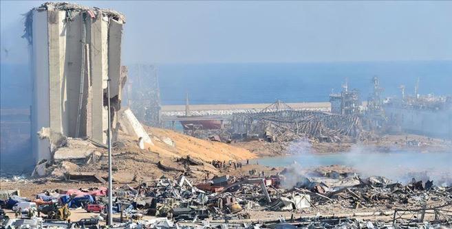 Liban : L'explosion du port de Beyrouth provoquée par 500 tonnes de nitrate d'ammonium