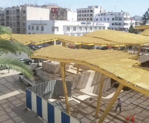 La canopée de la place « Pietri » en proie aux critiques des R'batis