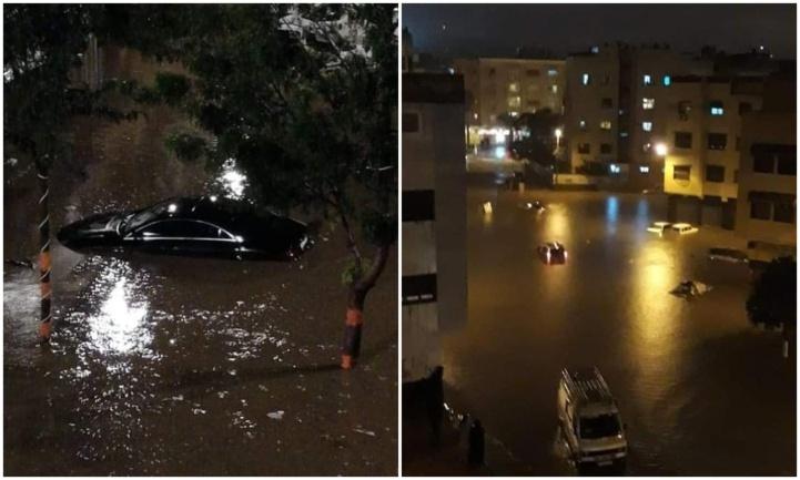 Quelques gouttes de pluie…Casablanca noyée !